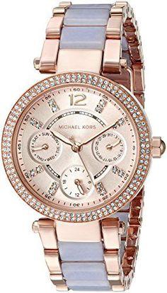 Michael Kors Women's Mini Parker Rose Gold-Tone Bracelet Watch (Model: MK6327) https://www.carrywatches.com/product/michael-kors-womens-mini-parker-rose-gold-tone-bracelet-watch-model-mk6327/ Michael Kors Women's Mini Parker Rose Gold-Tone Bracelet Watch (Model: MK6327)  #braceletwatch #rosegoldwatchwomen
