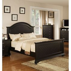 Picket House Addison Panel Bed