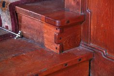 No detail used for this #wood #dovetail #joining #steps #stairs #staircase #wooden in the #Gamble #House