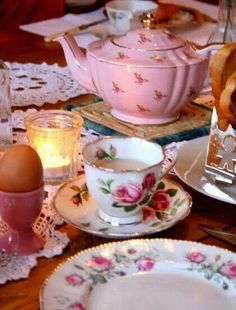 Breakfast Tea at Grandma's