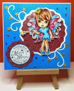 Handmade Cards, Fairies, Girly, Sweet, Design, Home Decor, Products, Craft Cards, Faeries