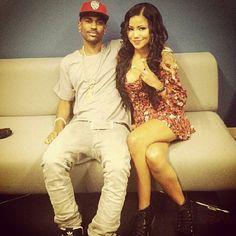 Big Sean and Jhene Aiko New Hip Hop Beats Uploaded http://www.kidDyno.com