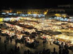 Marrakech Souk - market