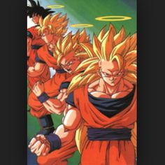 #Gohan #Goku #SSJ #SSJ2 #SSJ3 #SuperSaiyans #DragonballZ #DBZ #Saiyans #ZWarriors #Dragonball by just_another_crazy_fann