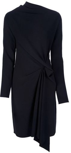 LANVIN Draped Dress Mehr