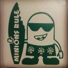 #minions                                               Surfer minion
