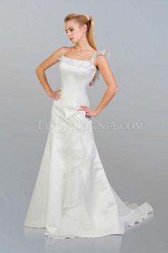 Jaro Nabírání S hlubokým výstřihem na zádech Svatební šaty 2014