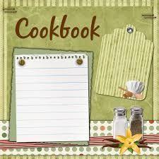 scrapbooking recipe book - Google Search