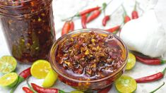Kindly click SHOW MORE for the list of ingredients. Do you love Chili Garlic Oil? This recipe is for you! A blend of gar. Recipes With Chili Garlic Sauce, Garlic Oil Recipe, Sauce Recipes, Real Food Recipes, Beef Kabob Marinade, Beef Kabobs, Hot Chili Oil, How To Make Chili, Easy Asian Recipes