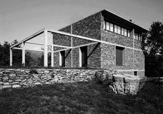 Herzog & de Meuron, Casa de Piedra, Tavole, Italy, 1985...