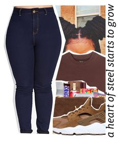 """BrownContest(Old;Edited)"" by purplequeen04 ❤ liked on Polyvore featuring adidas Originals, Yves Saint Laurent, NIKE and Forever 21"