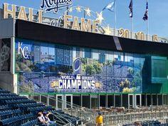 KC Royals new stadium addition-Apr 2016 Royals Baseball, Chiefs Football, Kansas City Royals, World Series, Sports, Travel, Sands, Hs Sports, Viajes