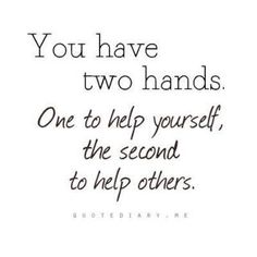 Volunteer to help others!