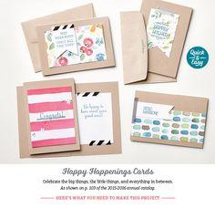 Happy Happenings Cards