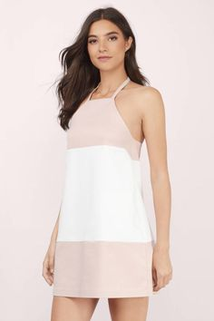 City Girl Halter Shift Dress at Tobi.com #shoptobi