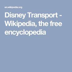 Disney Transport - Wikipedia, the free encyclopedia