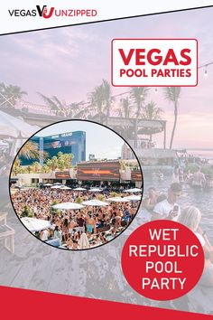 Las Vegas pool parties, also known as day clubs, are hot spots in select Las Vegas hotels. Get Tickets to the best Vegas pool parties for 2020 here! Las Vegas Tips, Las Vegas Vacation, Las Vegas Photos, Backyard Pools, Pool Landscaping, Indoor Pools, Backyard Parties, Pool Parties, Best Pools In Vegas