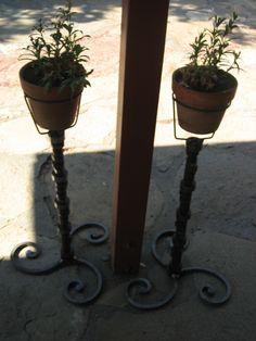 Cam shaft planters made at home.