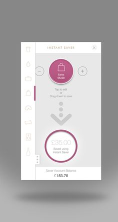 Instant Saver app on Behance