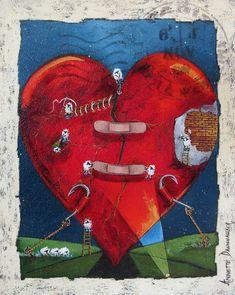 Healing Heart, Art Gallery, Artist, Paintings, House, Amor, Lawn And Garden, Art Museum, Paint