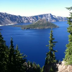 Crater Lake, near Bend, Oregon