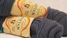 Vintage Spinnerin Yarn. Nylon Fingerling