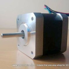 Buy Nema 17 Stepper Motor in India  Nema 17 is the motor of choice for RepRap 3d printers. The model listed here is Wantai Motor Model Number 42BYGHW609. This motor is widely used by reprap community. Wantai motors are also listed on reprap wiki and hence they have a proven reputation in the world of reprap.