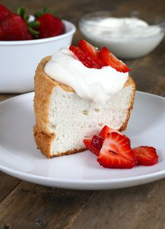 Get this tested, easy-to-follow recipe for gluten free angel food cake. Comes out just right every time. Perfect for warm-weather celebrations!