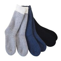 cd1326ead57 Duray Women s 3 Pack Thermal Wool Socks Style 1241 C01 - Size 9-1 Fashion