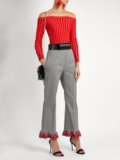 Click here to buy Altuzarra Taos stretch-cotton trousers at MATCHESFASHION.COM