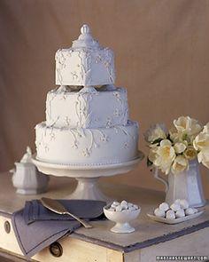 Pottery-Inspired Cake | Martha Stewart Weddings