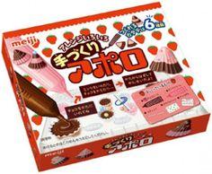Meiji DIY Apollo Kinoko No Yama Chocorooms Chocolate Making Kit Import Japan Meiji Chocolate, Chocolate Diy, How To Make Chocolate, Chocolate Making, Japanese Snacks, Japanese Sushi, Japanese Candy, Japanese Things, Make Your Own Sushi