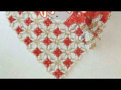 Beaded Bracelet Tutorial /Beaded Necklace Tutorial Free - YouTube