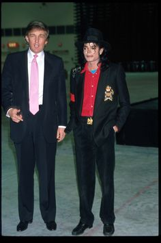 Michael jackson and our President trump