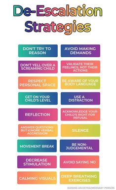 18 De-escalation Techniques for Handling Meltdowns // AngerManagement Meltdowns Autism ADHD ADHDKids CopingSkillsForKids CalmDownIdeas Kids And Parenting, Parenting Hacks, Positive Parenting Solutions, Autism Parenting, Peaceful Parenting, Parenting Plan, Parenting Styles, Gentle Parenting, Coping Skills