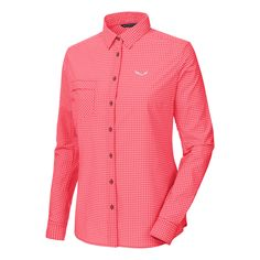 Doorout Angebote Salewa Puez Mini Check Dry W L/S Shirt Wanderbluse apricot Damen Gr. 44: Category: Outdoorbekleidung >…%#Quickberater%