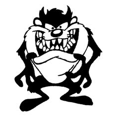 Tazmanian Devil Die Cut Vinyl Decal for Windows, Vehicle Windows, Vehicle Body Surfaces or just about any surface that is smooth and clean Classic Cartoon Characters, Favorite Cartoon Character, Classic Cartoons, Looney Tunes Cartoons, Cartoon Jokes, Cartoon Art, Zebra Cartoon, Cricut Vinyl, Vinyl Decals
