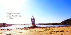 My afternoon Beach Yoga <3 #Bliss #Love