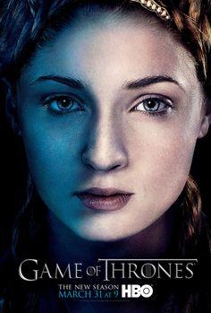 Sansa - Game of Thrones Season 3 -character poster