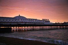 brighton pier sunrise!