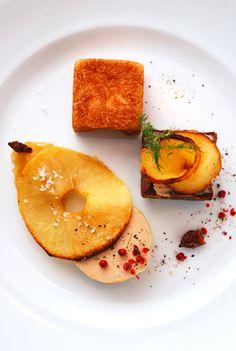 Foie gras et pommes