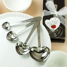 Heart Measuring Spoons - Black R38.00