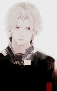 Tokyo Ghoul/Tokyo Ghoul Root A | Yomo. He's such a quiet and mysterious character with a sad back story :( His sister was killed by Arima and for a long time Tomo seeked revenge. However, after meeting the old man Yoshimura, he changed. (SYL)