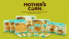 Mother's Corn is eco-friendly, non-toxic, biodegradable, durable tableware made of Corn for babies and kids! Available at www.kidsberry.com.au