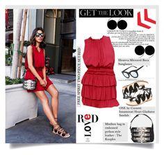 """Get the Look / Annabelle Fleur..."" by unamiradaatuarmario ❤ liked on Polyvore featuring Cornetti, Illesteva, women's clothing, women, female, woman, misses, juniors, GetTheLook and vivaluxury"