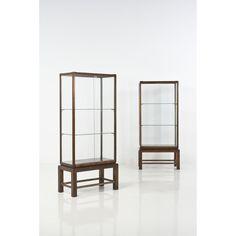 Gio Ponti, Paire de vitrines,1950 H 174 × L 75 × P 38,5 cm