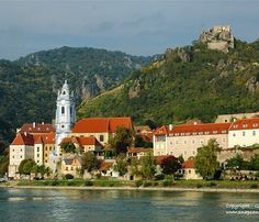 The picturesque town of Durnstein has a dark side to its history. Richard the Lionhearted was interred in the castle above the town. The town is best viewed from the far side of the Danube but is worth visiting too.