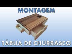 Processo de montagem da Tábua de Churrasco Camomila Link para o kit de montagem: http://goo.gl/YkgYGN Link para as instruções e plano de corte [grátis]: http...