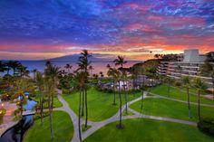 A beautiful Maui sunset #sheratonmaui