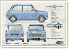 Morris Mini-Minor 1959 to 61 My first car.....